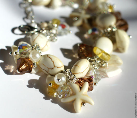 Браслет `Валенсия` Браслет из камней  браслет из натуральных камней Браслеты ручной работы Купить браслет браслеты  Подарок девушке.