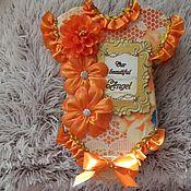 Канцелярские товары handmade. Livemaster - original item Photo albums for newborns the first year