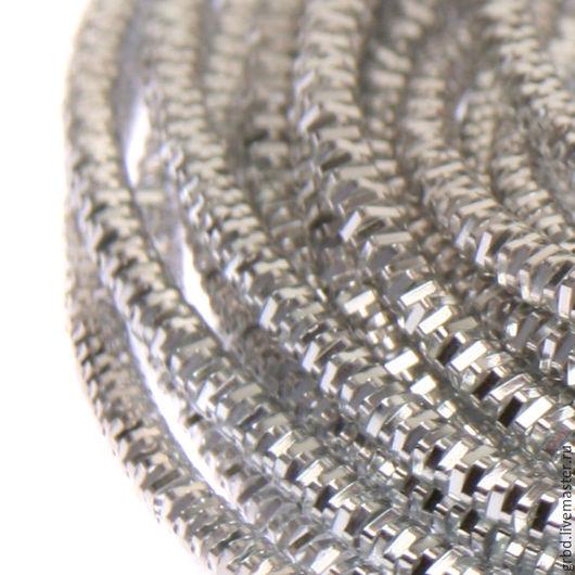 Вышивка ручной работы. Ярмарка Мастеров - ручная работа. Купить Канитель трунцал 4-гран., 1.5 мм, серебро. Handmade.