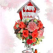 Цветы и флористика ручной работы. Ярмарка Мастеров - ручная работа Домик счастья. Handmade.