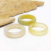 Украшения handmade. Livemaster - original item Ring yellow chalcedony 17 R-R. Handmade.