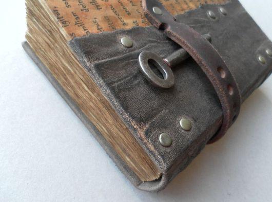 """Блокноты ручной работы. Ярмарка Мастеров - ручная работа. Купить Блокнот """"Спрятанный ключ"""". Handmade. Блокнот"""