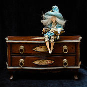 Куклы и игрушки ручной работы. Ярмарка Мастеров - ручная работа Чаепитие- мини)). Handmade.