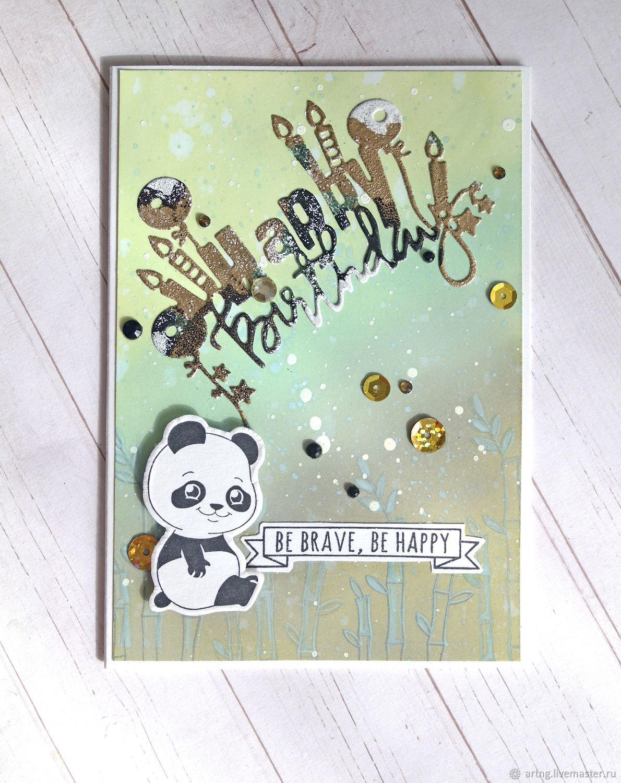 Милая панда, Открытки, Санкт-Петербург,  Фото №1