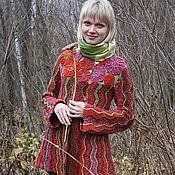 """Одежда ручной работы. Ярмарка Мастеров - ручная работа Жакет """"Улыбный цветок"""". Handmade."""
