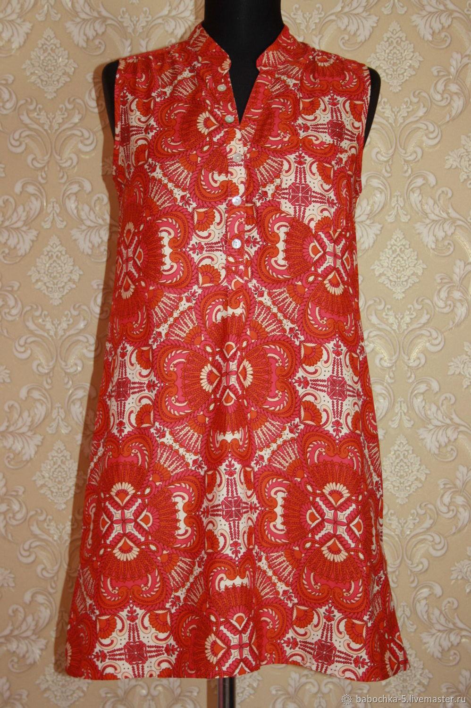 Винтаж: Платье Peacocks,NEW LOOK 44 размер 90-е, Одежда винтажная, Старая Купавна,  Фото №1