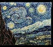 Картины и панно ручной работы. Ярмарка Мастеров - ручная работа Звездная ночь Ван Гог. Handmade.