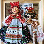 Картины и панно ручной работы. Ярмарка Мастеров - ручная работа панно для кухни Чаевница. Handmade.