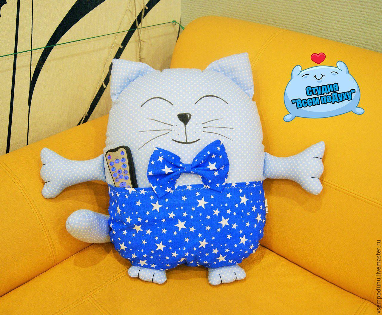 Подушки котик своими руками выкройки фото схемы