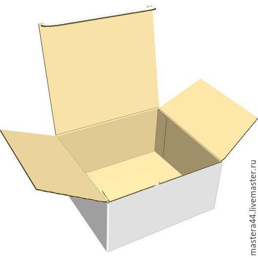 Упаковка ручной работы. Ярмарка Мастеров - ручная работа. Купить коробка микрогофрокартон тонкий тип 2. Handmade. Картонная коробка