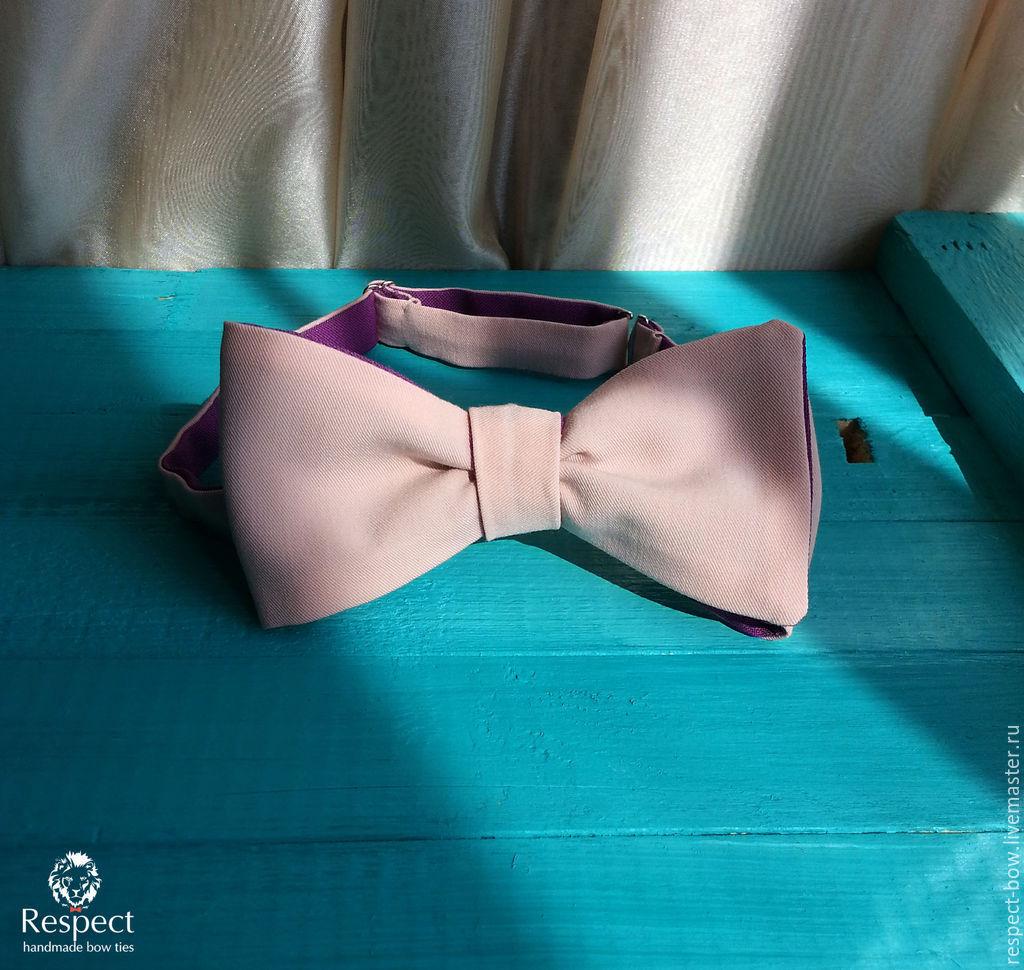 Tie samosas bilateral (fuchsia & pink), Ties, Moscow,  Фото №1
