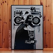 Картины и панно handmade. Livemaster - original item Picture Darth Vader. Handmade.