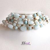 Украшения handmade. Livemaster - original item Necklace with aquamarine