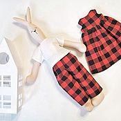Куклы Тильда ручной работы. Ярмарка Мастеров - ручная работа Зайка майлег. Handmade.