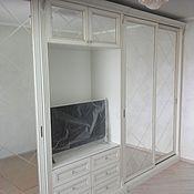 Для дома и интерьера ручной работы. Ярмарка Мастеров - ручная работа шкаф в гостиную на заказ. Handmade.