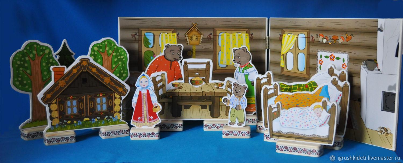 """Набор """"Три медведя"""", Кукольный театр, Нижний Новгород,  Фото №1"""