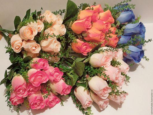 Другие виды рукоделия ручной работы. Ярмарка Мастеров - ручная работа. Купить Бутоны роз № 2 ( м-н) прямые. Handmade.