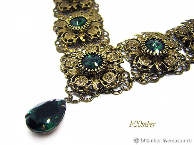 Vintage style. Necklace ' Victorian lace', Necklace, Protvino,  Фото №1