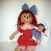 Куклы и игрушки ручной работы. Ярмарка Мастеров - ручная работа Подружки (по мотивам Реггеди Энн). Handmade.