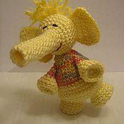 """Куклы и игрушки ручной работы. Ярмарка Мастеров - ручная работа игрушка """"Весёлый слоник"""". Handmade."""