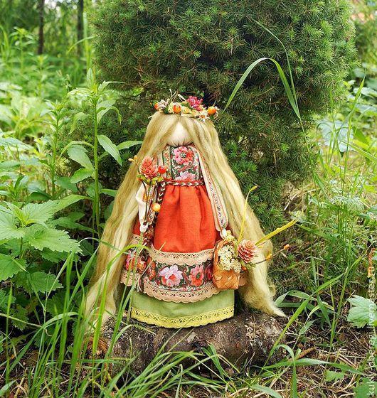 """Народные куклы ручной работы. Ярмарка Мастеров - ручная работа. Купить """"Одолень трава"""" славянская кукла. Handmade. Оберег, здоровье"""