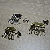 Фурнитура для сумок ручной работы. Ярмарка Мастеров - ручная работа Потроха для ключниц. Handmade.