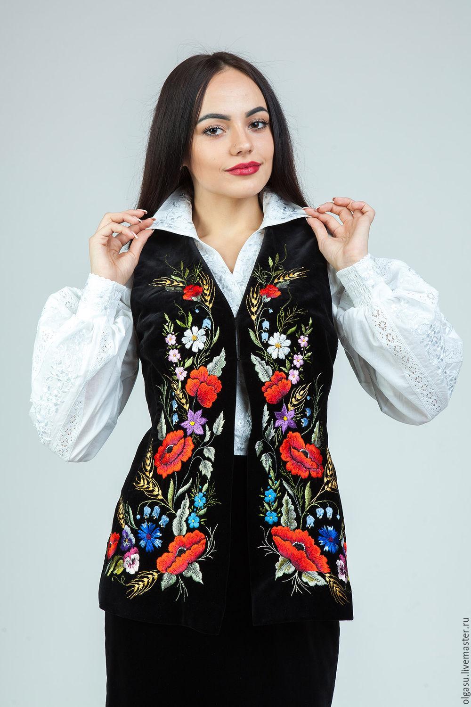Вышивка одежда украина