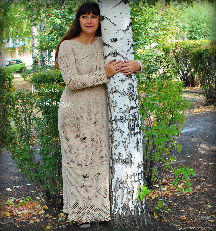 Dress 'Keeper' of cotton, Dresses, Orenburg,  Фото №1