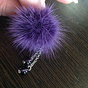 Украшения handmade. Livemaster - original item Ring made of mink fur !Lilavati!. Handmade.