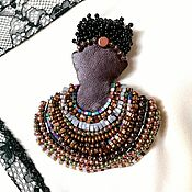 handmade. Livemaster - original item Brooch-pendant of THE INCA PRINCESS. Handmade.