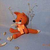 """Куклы и игрушки ручной работы. Ярмарка Мастеров - ручная работа """"Лисичка"""". Handmade."""