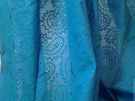 Шелковый батист с вышивкой 88