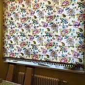 Для дома и интерьера ручной работы. Ярмарка Мастеров - ручная работа Римская штора. Handmade.