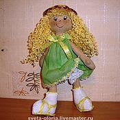 """Куклы и игрушки ручной работы. Ярмарка Мастеров - ручная работа сНежная девочка """"Лето"""". Handmade."""