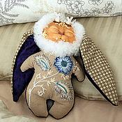 Куклы и игрушки handmade. Livemaster - original item Rabbit sleep Keeper (toy Scops owl, collectible, rabbit). Handmade.