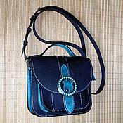 Сумки и аксессуары handmade. Livemaster - original item Ultramarine and Turquoise...). Handmade.