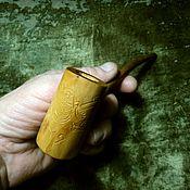 Субкультуры handmade. Livemaster - original item Smoking pipe hot stack reconciliation opponents. Handmade.
