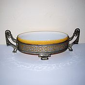 Винтаж handmade. Livemaster - original item Vintage fruit bowl of Austria - Hungary art Deco 1900-1920. Handmade.