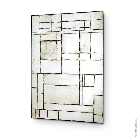 Зеркала ручной работы. Ярмарка Мастеров - ручная работа. Купить Зеркало в стиле loft состаренное зеркало ручной работы. Handmade.