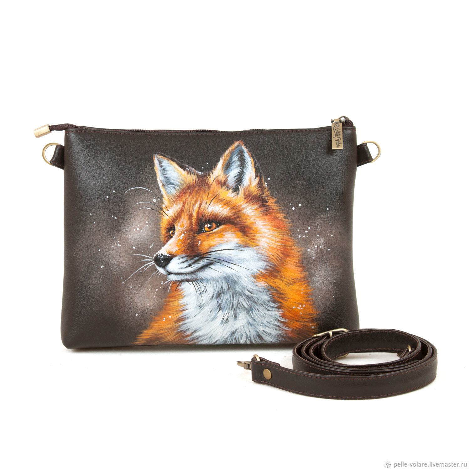 Bag-Clutch 'Sly Fox ', Clutches, St. Petersburg,  Фото №1