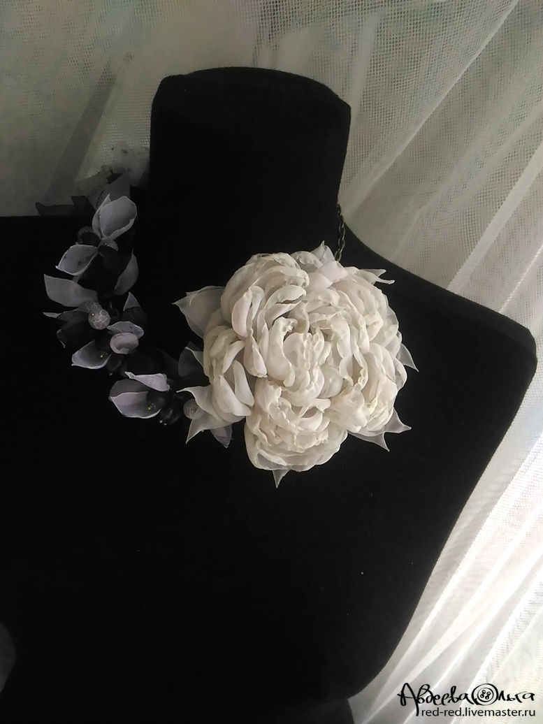 Brooch Fabric Flower Vintage Rose Flower Hair Clip Peony Shop