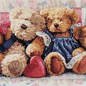 """Картины и панно handmade. Livemaster - original item """"Teddy Bears"""" picture.. Handmade."""