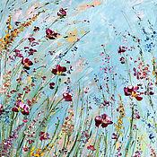 Картины и панно handmade. Livemaster - original item Oil painting Interior flowers. Handmade.