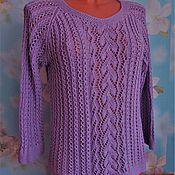Одежда handmade. Livemaster - original item Cotton blouse. Handmade.