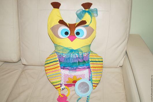 """Развивающие игрушки ручной работы. Ярмарка Мастеров - ручная работа. Купить Развивающая игрушка для малышей """" Совунья Соня"""". Handmade."""