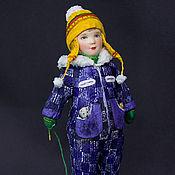 """Куклы и игрушки ручной работы. Ярмарка Мастеров - ручная работа Художественная кукла """"Малыш на прогулке"""". Handmade."""