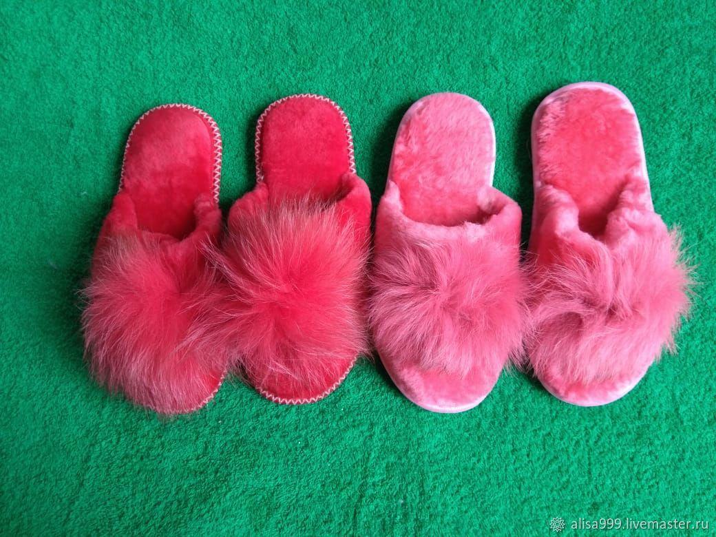 Тапочки: мутон на 39 размер, Обувь, Москва, Фото №1