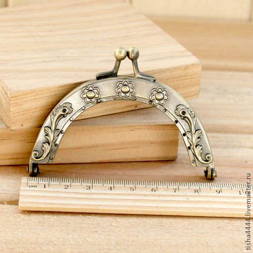 Другие виды рукоделия ручной работы. Ярмарка Мастеров - ручная работа. Купить Рамочный замок 8,5см (БФ002К). Handmade.