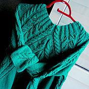 Одежда handmade. Livemaster - original item Sweater women knitted Stephanie complete with removable collar.. Handmade.