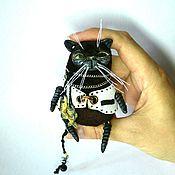 Куклы и игрушки ручной работы. Ярмарка Мастеров - ручная работа Чёрный кот.. Handmade.